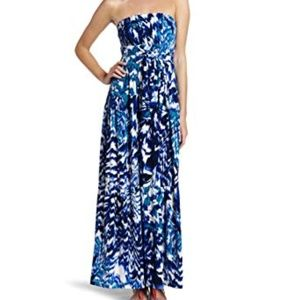 Donna Morgan strapless maxi dress size 6